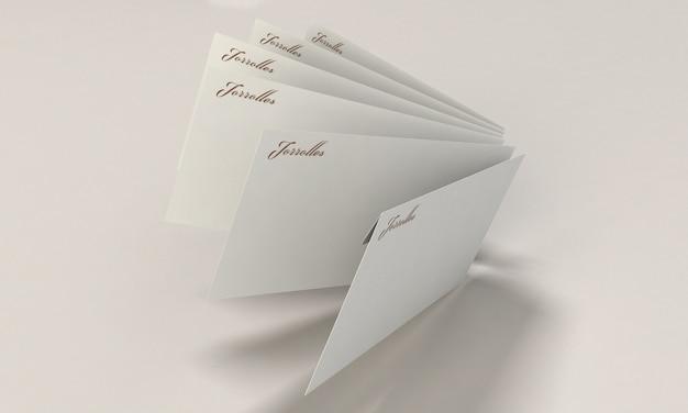 Макет конвертов