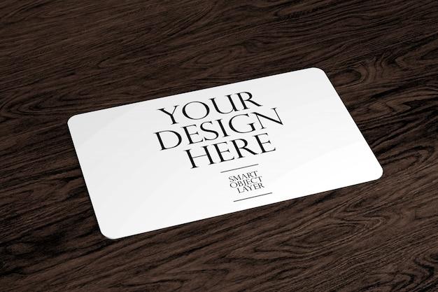 カードのモックアップ