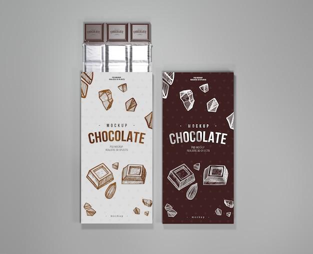 チョコレートモックアップ