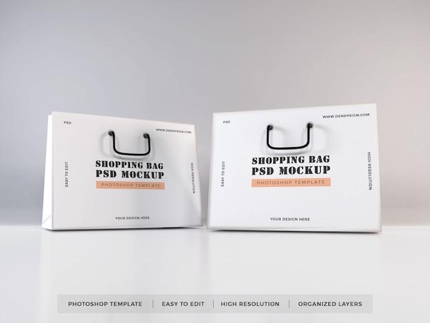 Реалистичная сумка для покупок