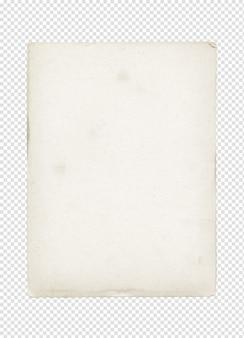 釘の空白のビンテージポスター