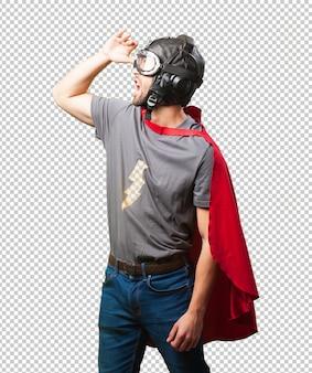 Супер герой человек