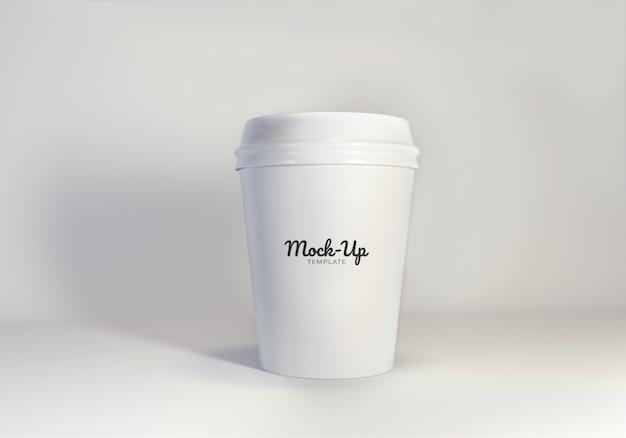 モックアップ紙コーヒーカップテンプレート