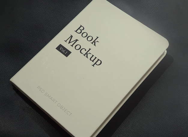 Шаблон книги в твердом переплете