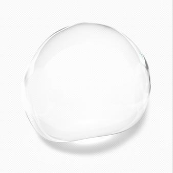 Прозрачные капли воды