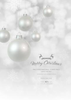 クリスマスセールバナー