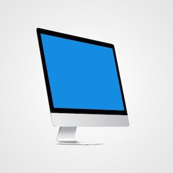 コンピュータがデザインをモックアップ