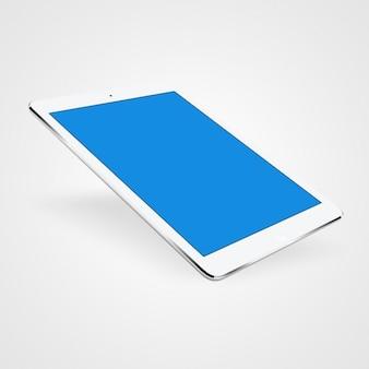 タブレットは、デザインをモックアップ