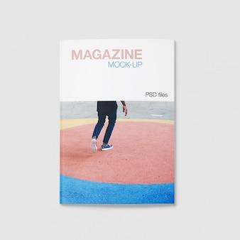 マガジンは、デザインのモックアップ