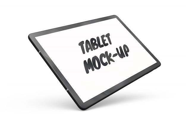 Изолированный макет планшета