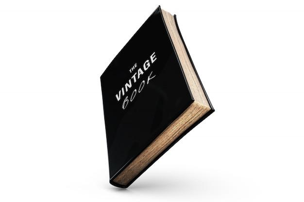 Винтажная книга макет