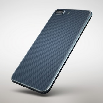 携帯電話のモックアップデザイン