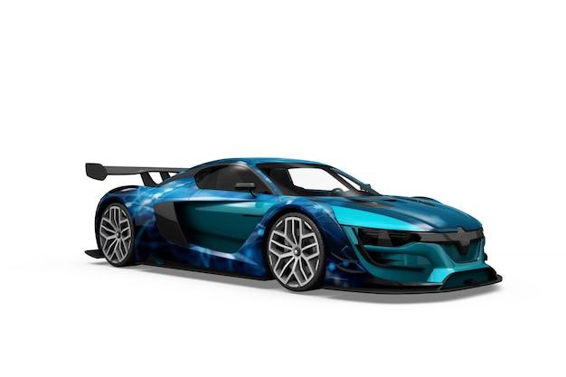 Автомобиль макет изолированные дизайн