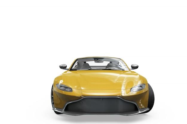 車のモックアップ絶縁デザイン