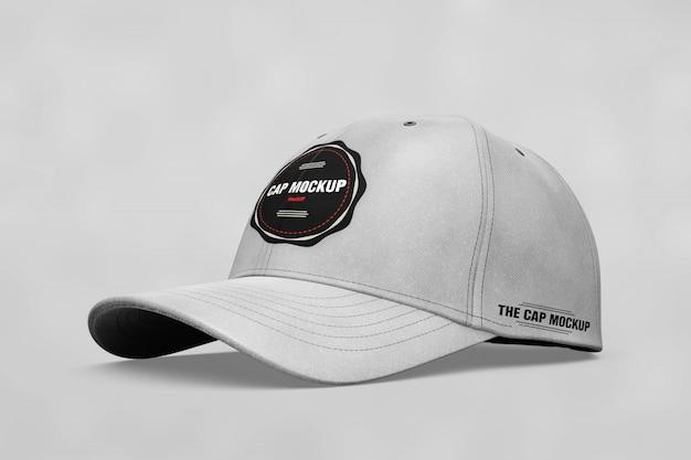 現実的な帽子のモックアップ