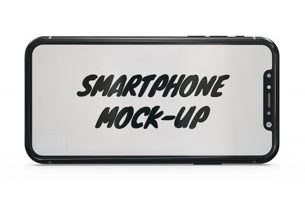 スマートフォンのモックアップ絶縁