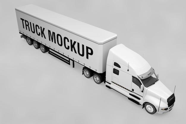 Макет грузовика
