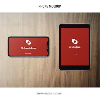 Макет экрана телефона