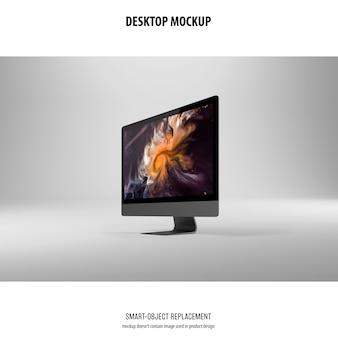 デスクトップ画面のモックアップ