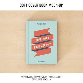 ブックカバーは、デザインのモックアップ
