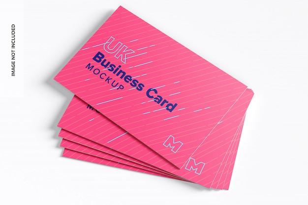 Макет визитных карточек в великобритании