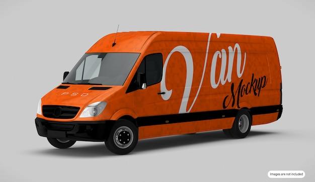 オレンジヴァンモックアップ