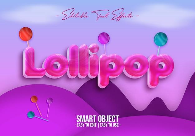 ロリポップ-テキスト-スタイル-効果