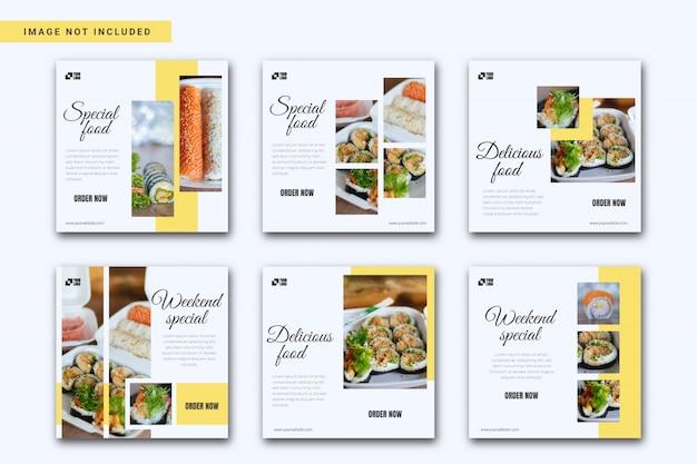 Коллекция шаблонов для ресторанов