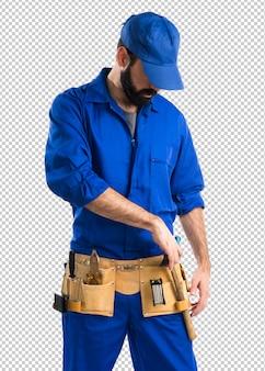 配管工の男