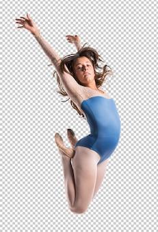 美しい女の子バレエダンサー
