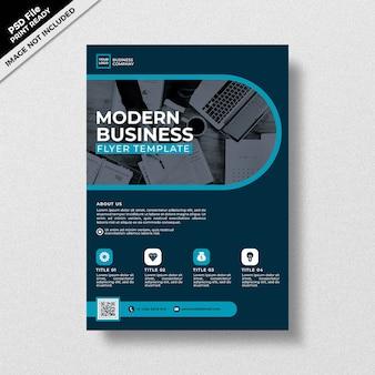 Современный профессиональный бизнес флаер шаблон