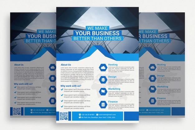 Творческая бизнес-брошюра