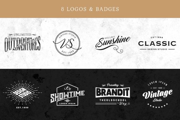 Элегантная коллекция логотипов