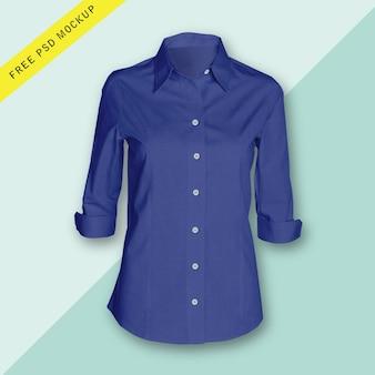 女性の長袖シャツ