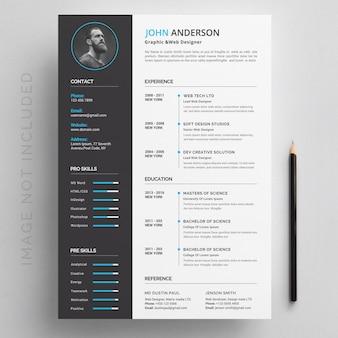 現代の履歴書