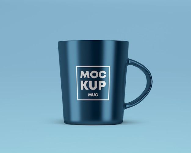 メタリックマグカップモックアップ