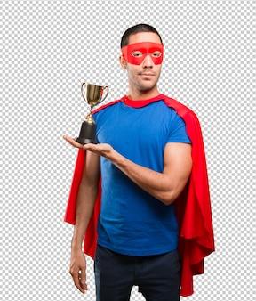 ゴールドカップで満足していたスーパーヒーロー