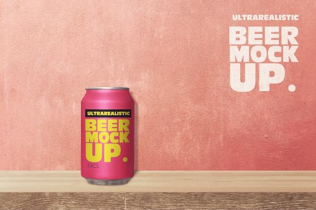 棚ビール缶モックアップ