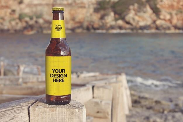 フォルメンテラビーチビールモックアップ