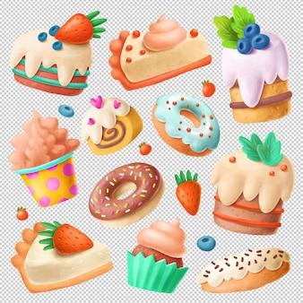 Десертный клипарт