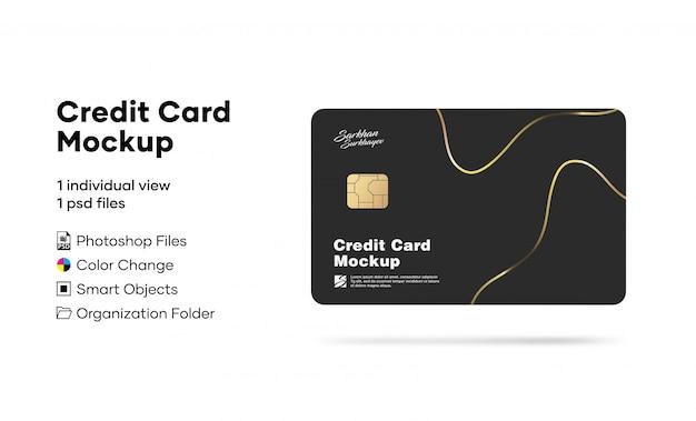 クレジットカードモックアップ