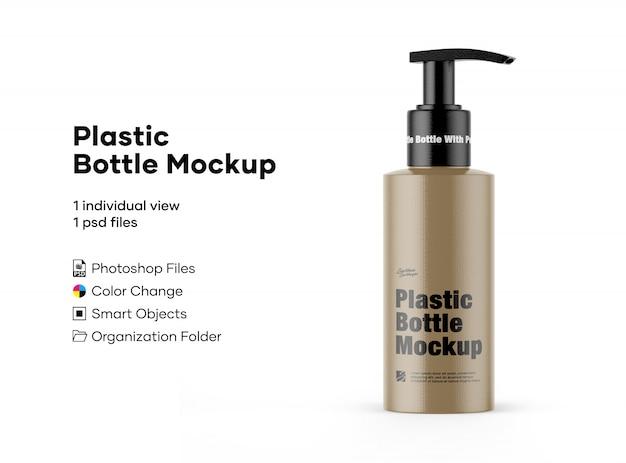 Пластиковая бутылка макет