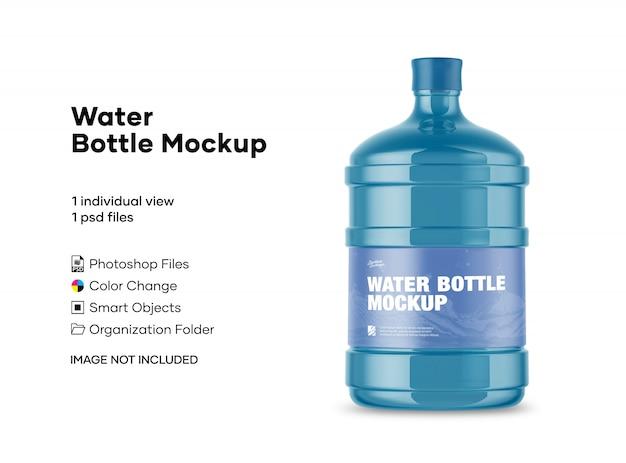 Макет бутылки с водой