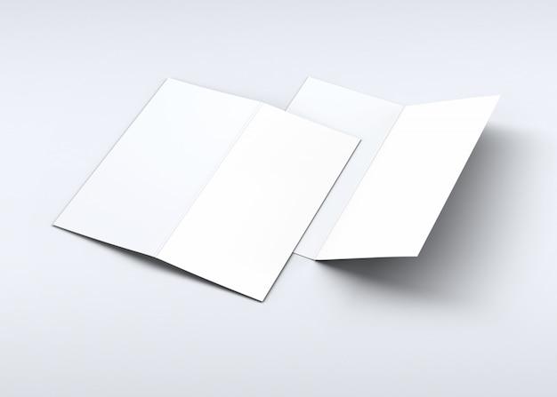 招待状とグリーティングカードのモックアップ