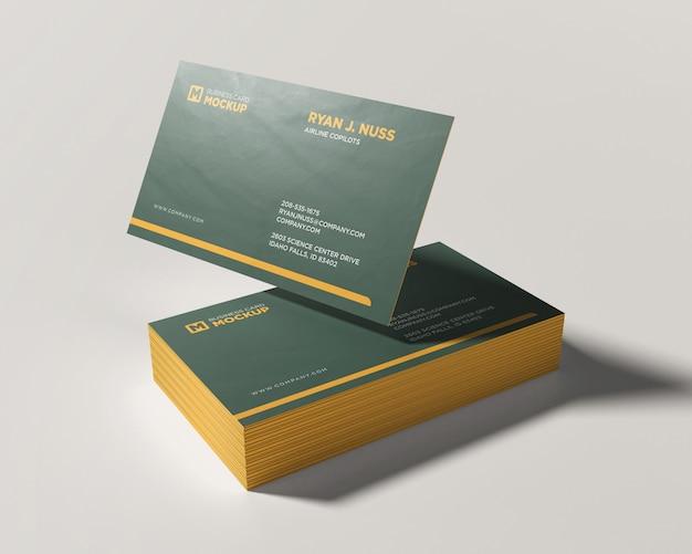 Макет визитки