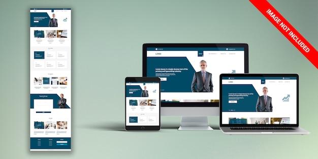 金融ウェブデザイン