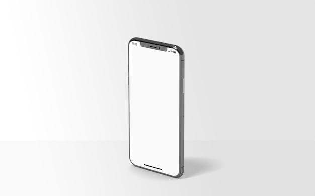 Смартфон презентация макет изолированы