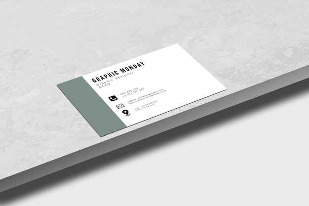 Фотореалистичная визитка