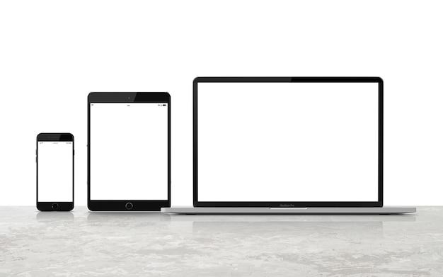 Набор макетов для цифровых устройств