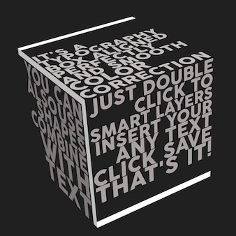 Макет типографии